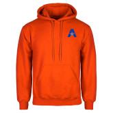 Orange Fleece Hoodie-A with Star