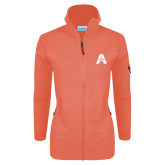 Columbia Ladies Full Zip Coral Fleece Jacket-A with Star