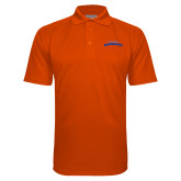 Orange Textured Saddle Shoulder Polo-UTA Mavericks stacked