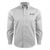Red House Grey Plaid Non Iron Long Sleeve Shirt-Secondary Mark