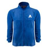 Fleece Full Zip Royal Jacket-A with Star