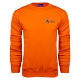 Orange Fleece Crew-Secondary Mark