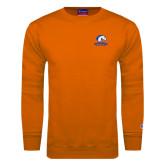 Orange Fleece Crew-Mavericks