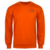Orange Fleece Crew-UTA Mavericks stacked