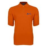 Orange Easycare Pique Polo-Secondary Mark