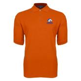Orange Easycare Pique Polo-Mavericks