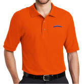 Orange Easycare Pique Polo-UTA Mavericks stacked