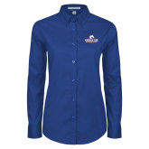 Ladies Royal Twill Button Down Long Sleeve-Maverick Club