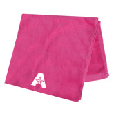 Pink Beach Towel-A with Star