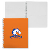 College Spiral Notebook w/Clear Coil-Primary Mark