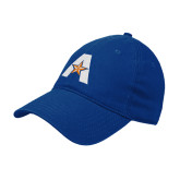 Royal Twill Unstructured Low Profile Hat-A with Star
