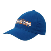 Royal OttoFlex Unstructured Low Profile Hat-2016-17 Regular Season Champions Mens Basketball