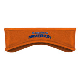Orange Stretch Fleece Headband-UTA Mavericks stacked