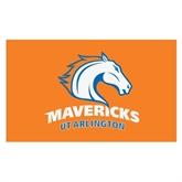 3 ft x 5 ft Flag-UT Arlington Mavericks Arched w/Mascot