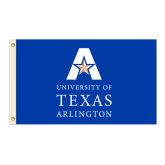 3 ft x 5 ft Flag-UT Arlington Blue