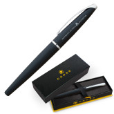 Cross ATX Basalt Black Rollerball Pen-University of Texas Arlington