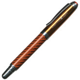 Carbon Fiber Orange Rollerball-A with Star Engraved