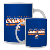 Full Color White Mug 15oz-2016-17 Regular Season Champions - Mens Basketball Stencil
