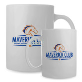 Full Color White Mug 15oz-Maverick Club