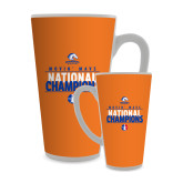 Full Color Latte Mug 17oz-Movin Mavs National Champions