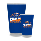 Full Color Glass 17oz-2016-17 Regular Season Champs - Mens Basketball Half Ball