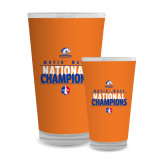 Full Color Glass 17oz-Movin Mavs National Champions