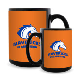 Full Color Black Mug 15oz-Primary Mark