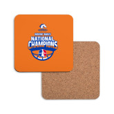 Hardboard Coaster w/Cork Backing-Movin Mavs NWBA National Champions