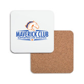 Hardboard Coaster w/Cork Backing-Maverick Club