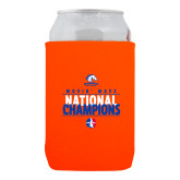 Neoprene Orange Can Holder-Movin Mavs National Champions