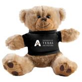 Plush Big Paw 8 1/2 inch Brown Bear w/Black Shirt-Secondary Mark