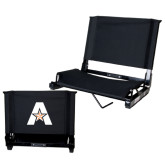 Stadium Chair Black-A with Star