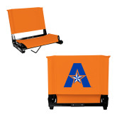 Stadium Chair Orange-A with Star