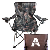 Hunt Valley Camo Captains Chair-A with Star