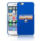 iPhone 6 Plus Phone Case-2016-17 Regular Season Champions - Mens Basketball Stencil