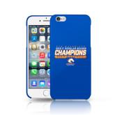 iPhone 6 Phone Case-2016-17 Regular Season Champions - Mens Basketball Stencil