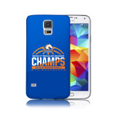 Galaxy S5 Phone Case-2016-17 Regular Season Champs - Mens Basketball Half Ball