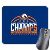 Full Color Mousepad-2016-17 Regular Season Champs - Mens Basketball Half Ball