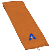 Orange Golf Towel-A with Star