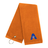Orange Golf Towel-A with Star