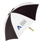 62 Inch Black/White Umbrella-Secondary Mark