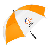 62 Inch Orange/White Umbrella-Mens Basketball