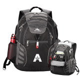 High Sierra Big Wig Black Compu Backpack-A with Star