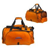 Challenger Team Orange Sport Bag-UTA Mavericks stacked