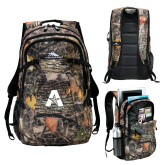 High Sierra Fallout Kings Camo Compu Backpack-A with Star