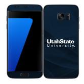 Samsung Galaxy S7 Edge Skin-University Wordmark