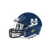Riddell Replica Navy Mini Helmet-Primary Mark Athletics