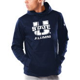 Under Armour Navy Armour Fleece Hoodie-Alumni