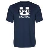 Performance Navy Tee-Grandpa