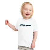 Toddler White T Shirt-Athletics